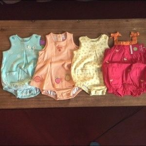 Carter's One Piece Bundle 3 Months ALL NWT